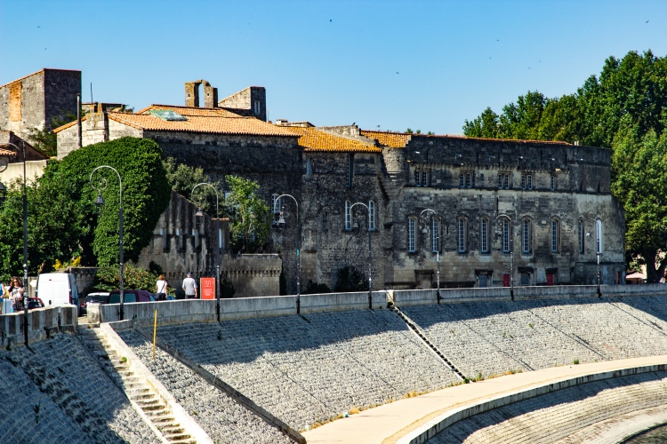 Arles France riverfront