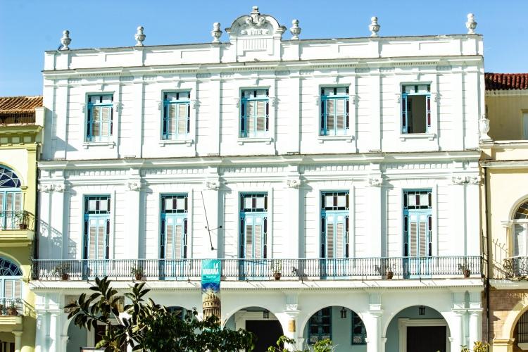 Architecture in Old Havana Cuba