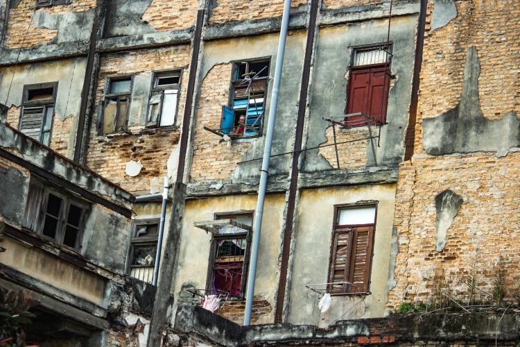 Architecture in Havana Cuba